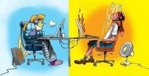 microclima ufficio